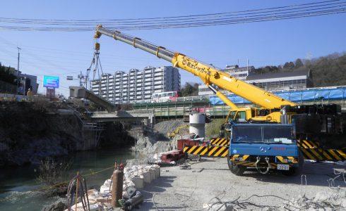 旧多田大橋撤去状況